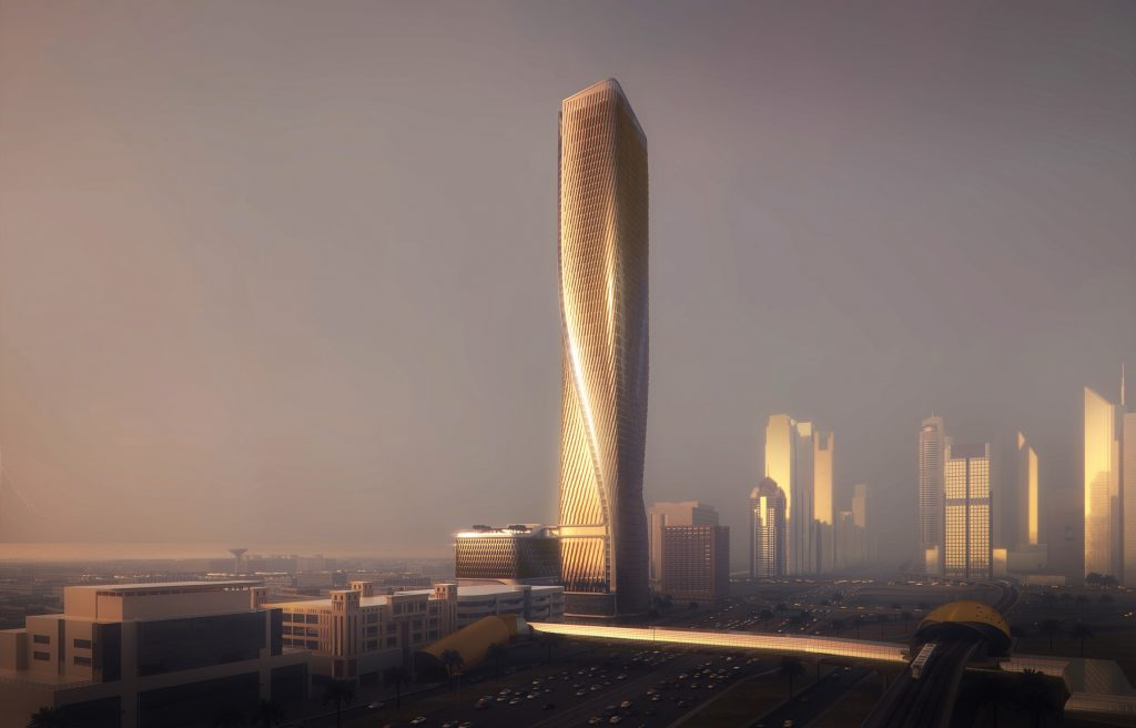 "UNStudio set to build Dubai tower with ""world's tallest ceramic facade"