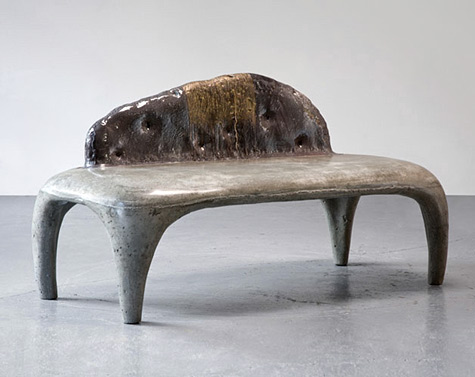 Designers get fired up over ceramic furniture