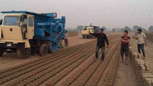 Mobile Brickmaking Helps Increase Productivity while Reducing Slave Labor in Asia