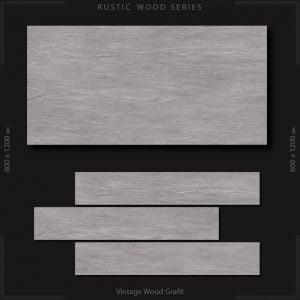 CF LV RUSTIC VINTAGE WOOD GRAFIT WOOD 195 X 1200
