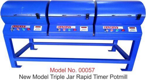 CF SE Triple Jar Rapid Timer Pot Mill