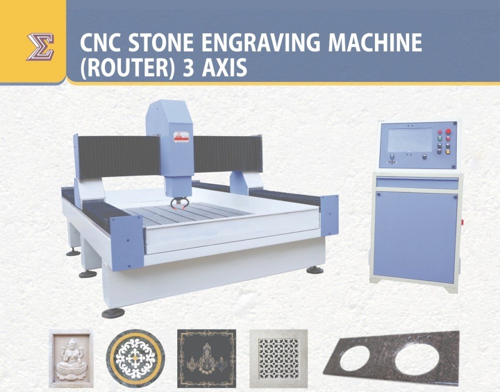 CF SMT CNC Stone Engraving Machine(Router) 3 Axis CNC-12