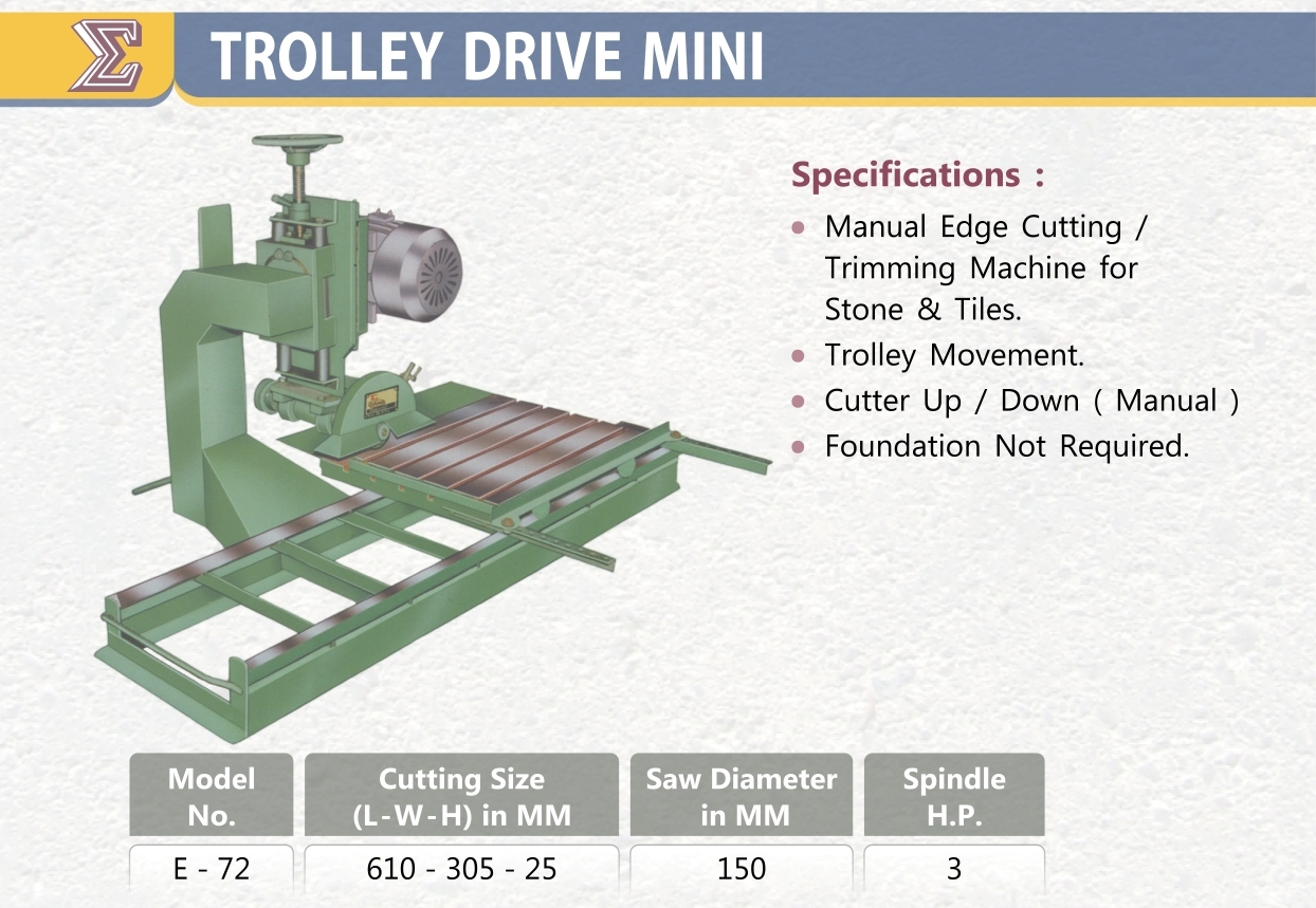 CF SMT Trolly Driver Mini E-72
