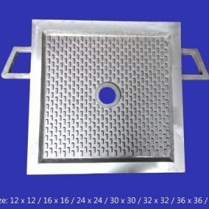 CF DFP CAST IRON FILTER PLATE