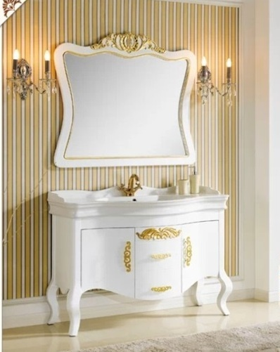 CF CN SHBISA 3001 BATHROOM CABINET SOLID WOOD