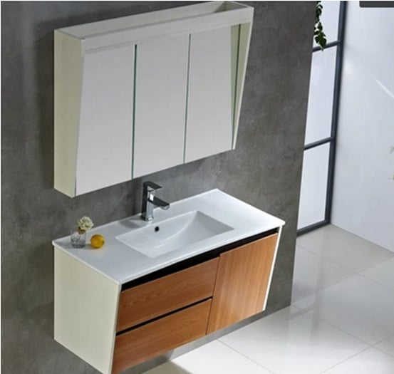 CF CN SHBISA 8001 BATHROOM CABINET SOLID WOOD