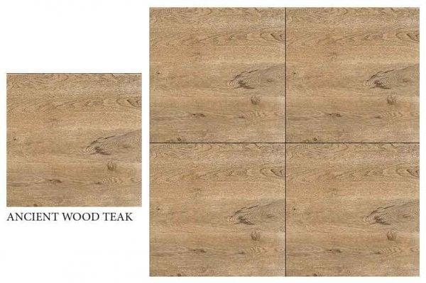 CF KEDA MAT ANCIENT WOOD TEAK 600 X 600
