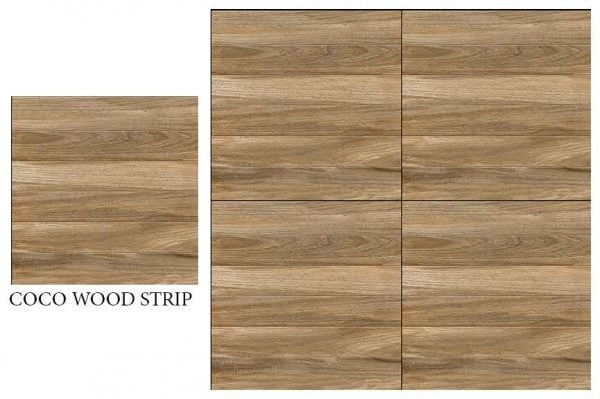 CF KEDA MAT COCO WOOD STRIP 600 X 600