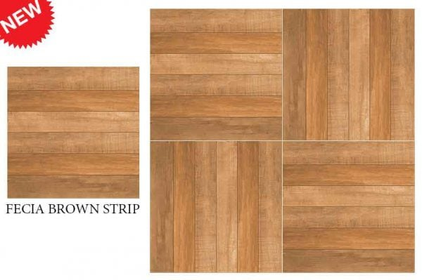 CF KEDA MAT FECIA BROWN STRIP 600 X 600