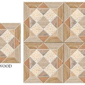 CF KEDA MAT NATIVE WOOD 600 X 600