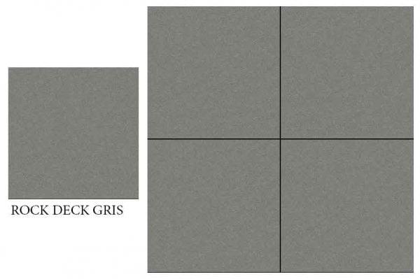 CF KEDA MAT ROCK DECK GRIS 600 X 600