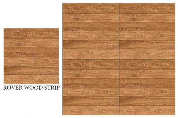 CF KEDA MAT ROVER WOOD STRIP 600 X 600