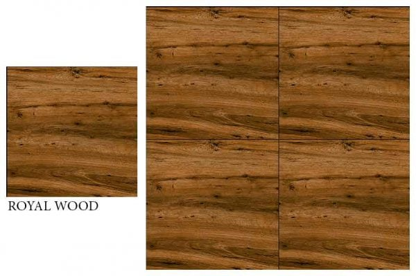 CF KEDA MAT ROYAL WOOD 600 X 600