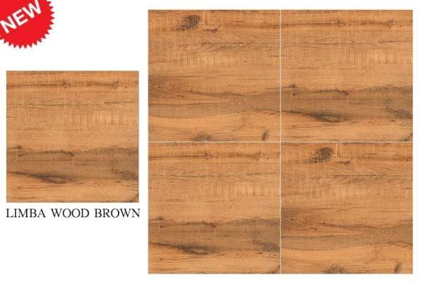 CF KEDA RUS LIMBA WOOD BROWN 600 X 600