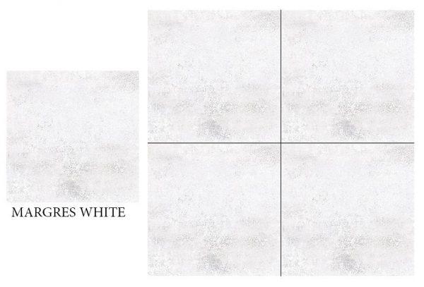 CF KEDA RUS MARGRES WHITE  600 X 600