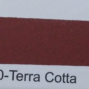 CF PTC epoxy color 2120 Terra Cotta