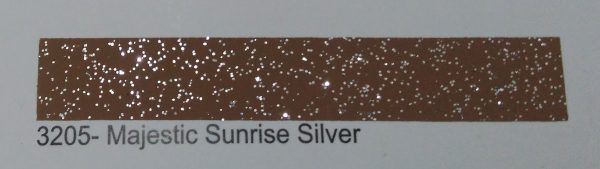 CF PTC epoxy color 3205 Majestic Sunrise Silver