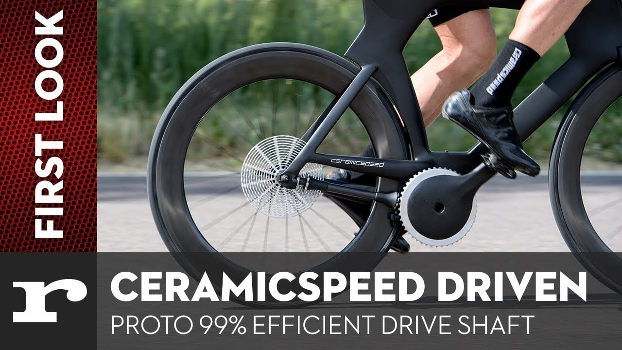 Ceramic drivetrain maximises pedal power by cutting friction
